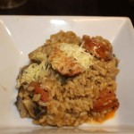 Mushroom and Chorizo Risotto
