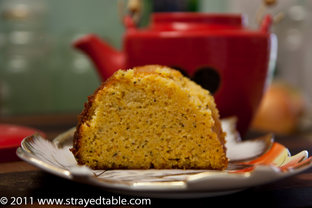 Orange And Poppy Seed Cake With Almond Meal