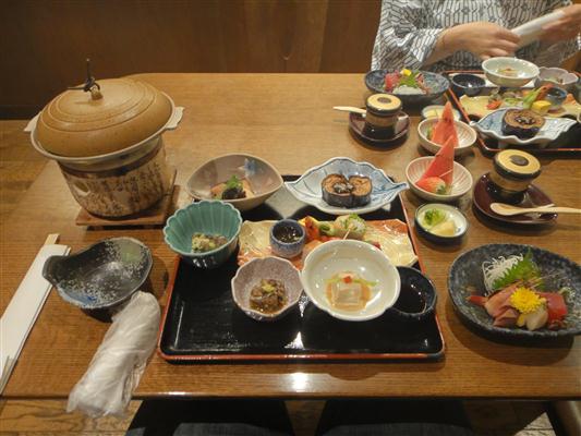 Takayama Ryokan Food, Japan