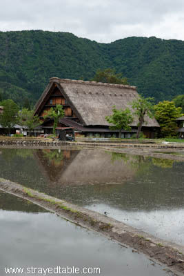 Gassho-Zukuri Hotel in Shirakawago, Japan