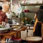 Dumpling soup and the market, Chengdu