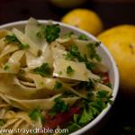 Pasta: Lemon and Chilli Recipe