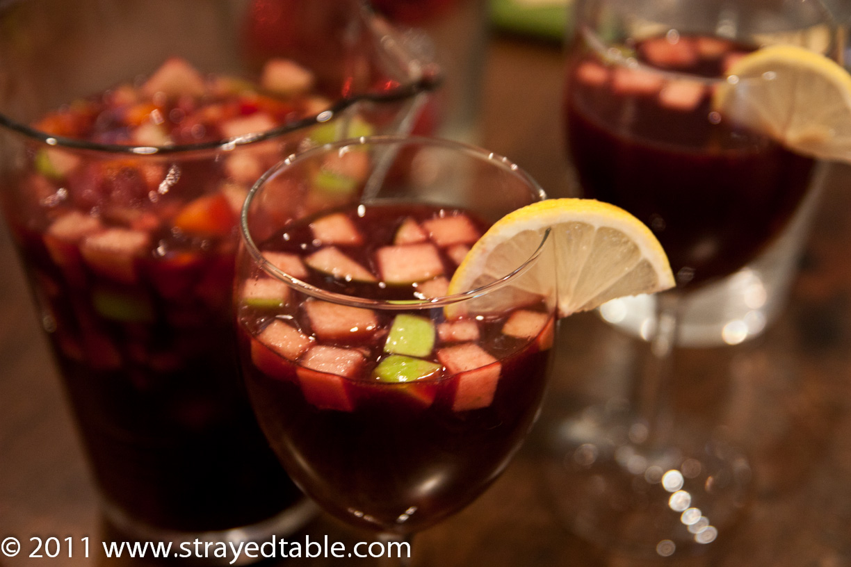 Festive Sangria - Strayed from the Table