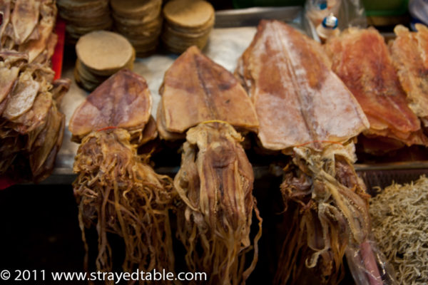 Dried Squid, Hau Hin Market