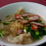 BBQ Pork and Wonton Noodle Soup, Bangkok, Thailand