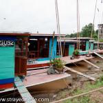 Long Boat to Luang Prabang, Laos