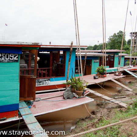 Long Boat to Luang Prabang, Laos