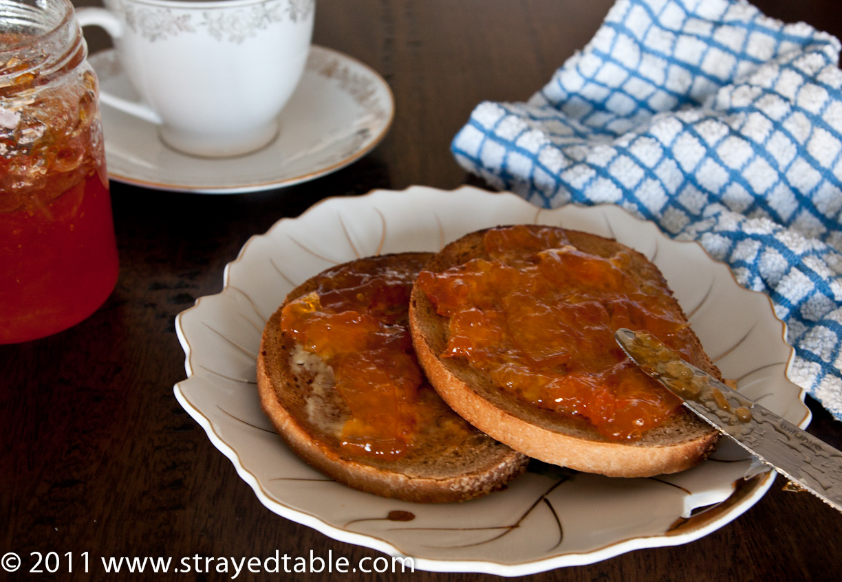 old english marmalade recipe strayed from the table