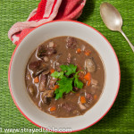 Hearty Beef & Mushroom Soup – Recipe