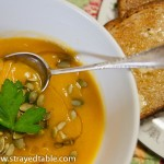 Spicy Pumpkin Soup – Recipe