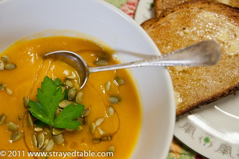 Spicy Pumpkin Soup - Recipe