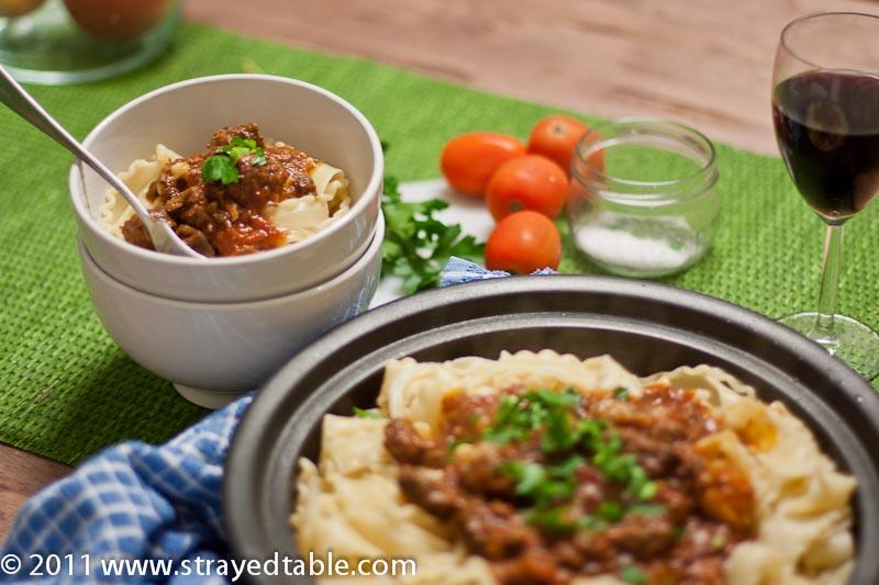 Italian Beef Ragu - Recipe