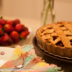 Strawberry & Rhubarb Pie – Recipe (gluten free)