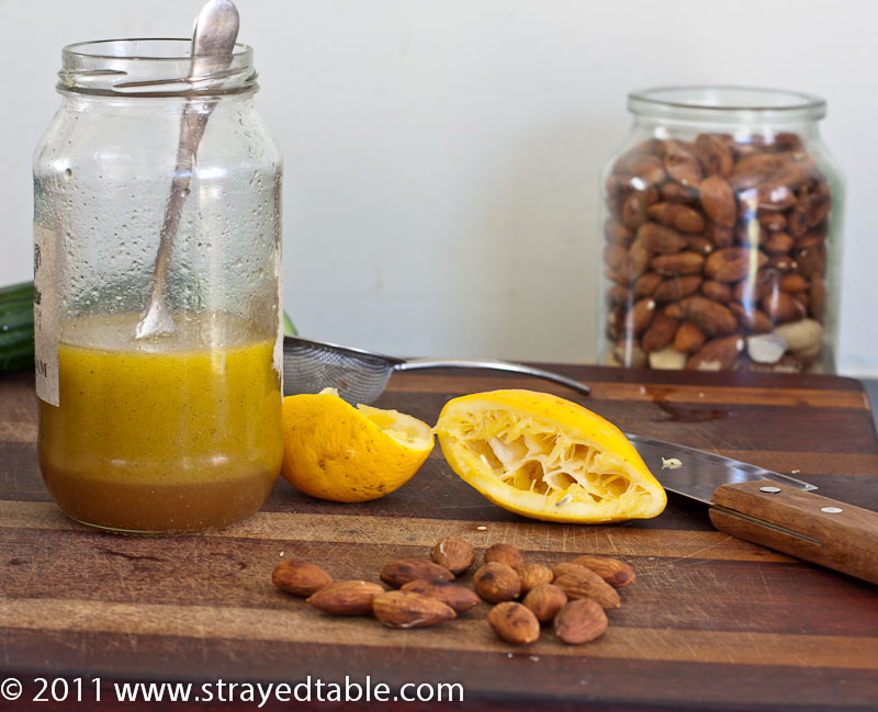 Vanilla Lemon Dressing - Recipe