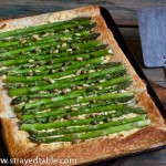 Asparagus and Ricotta Tart – Recipe