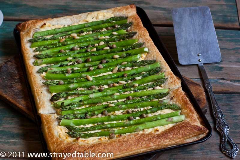 Asparagus and Ricotta Tart - Recipe