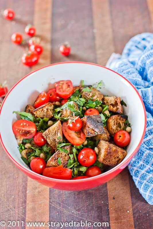 Panzanella Salad - Recipe