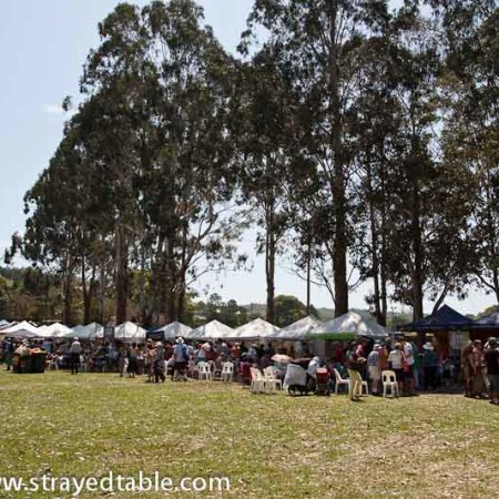 Sample Food Festival, Bangalow, NSW