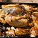 Roast Chicken & Festive Barley Stuffing – Recipe