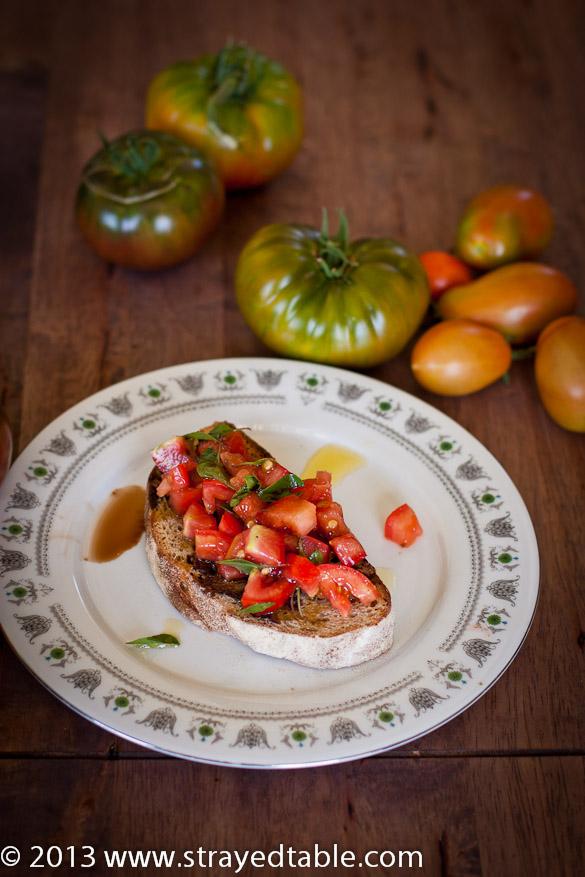 Italian Tomato Bruschetta Recipe
