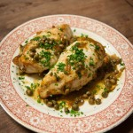 Chicken with Capers & Lemon Recipe