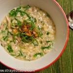 Chicken & Kale Congee Recipe