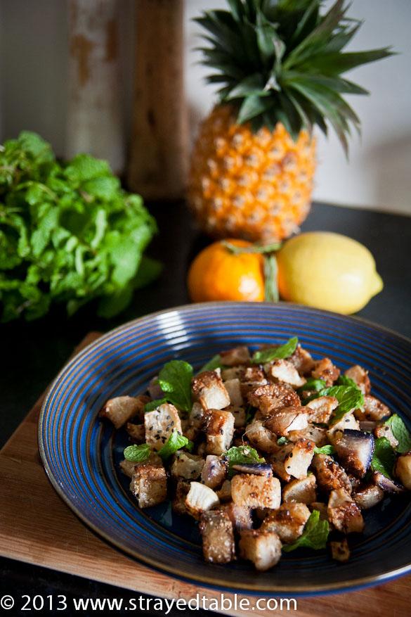 Roast Radish Salad