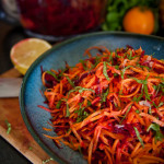 Beetroot Carrot Salad