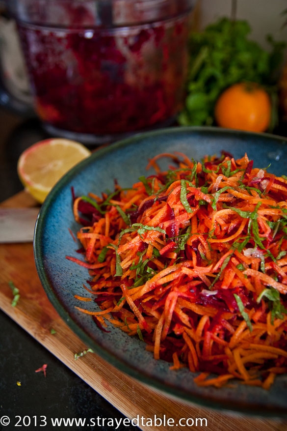 Beetroot & Carrot Salad Recipe