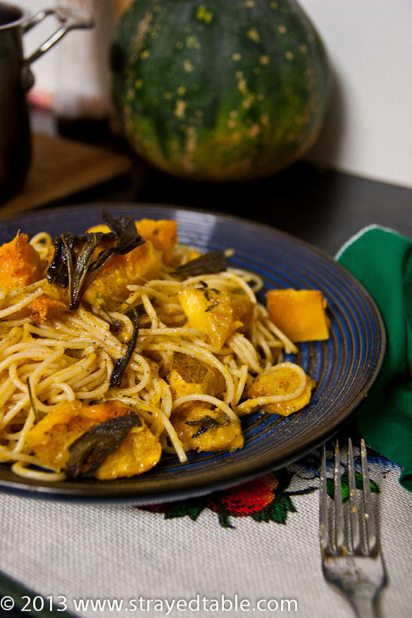 Pumpkin & Sage Pasta Recipe