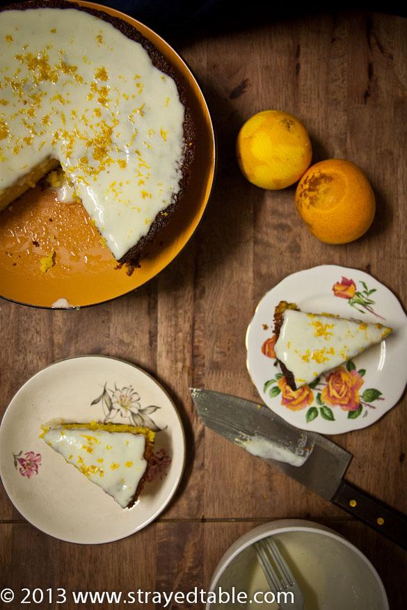 Orange Turmeric Gluten Free Cake Recipe @ Strayed from the Table