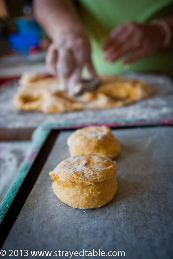 Mum's Pumpkin Scone Recipe @ Strayed from the Table