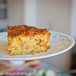 Zucchini & Bacon Slice Recipe