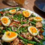 Roasted Tomato Salad Nicoise Recipe