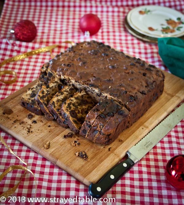 Drunken Rum Christmas Cake Recipe