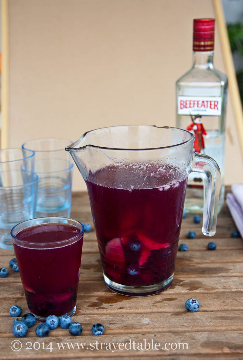 Berry & Peach Iced Tea Recipe @ Strayed from the Table