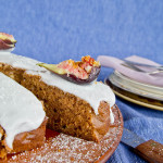 Spice Cake with Fresh Figs Recipe