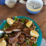 Lamb & Eggplant Salad Recipe