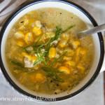 Chicken and Fresh Corn Soup Recipe