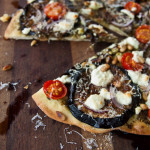 Eggplant & Goat Feta Pizza Recipe