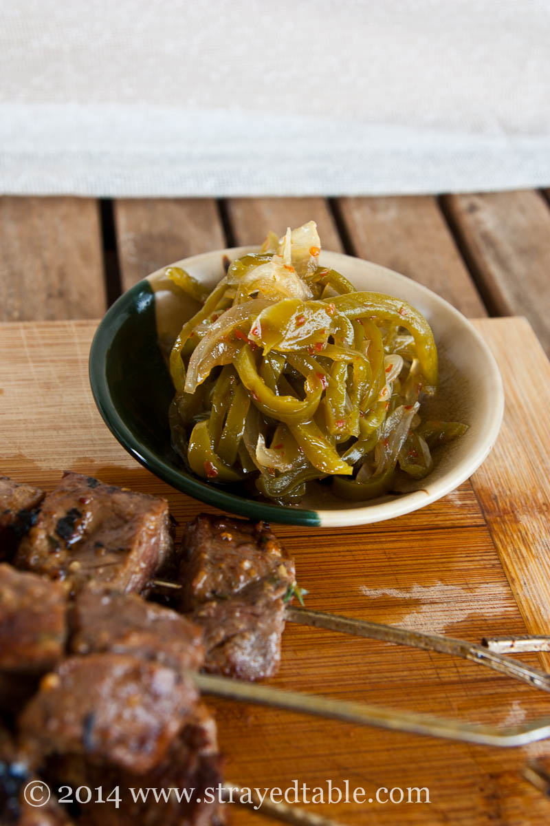 Green Chili Jam Recipe @ Strayed from the Table
