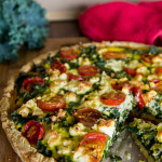 Kale and Cherry Tomato Tart Recipe