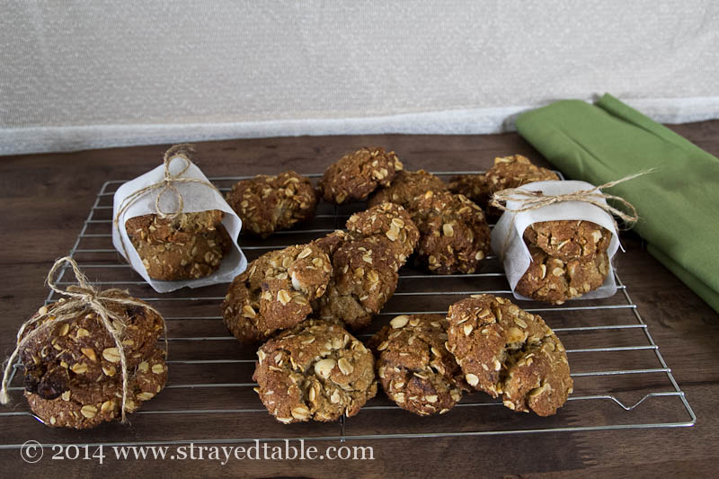 Dark chocolate macadamia anzac biscuit recipe strayed for Table 52 biscuit recipe