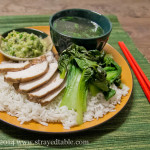 Poached Soy Chicken w Ginger Sauce