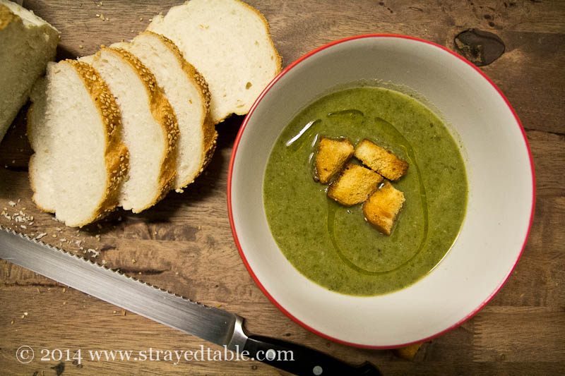 broccoli, potato & Silverbeet soup recipe