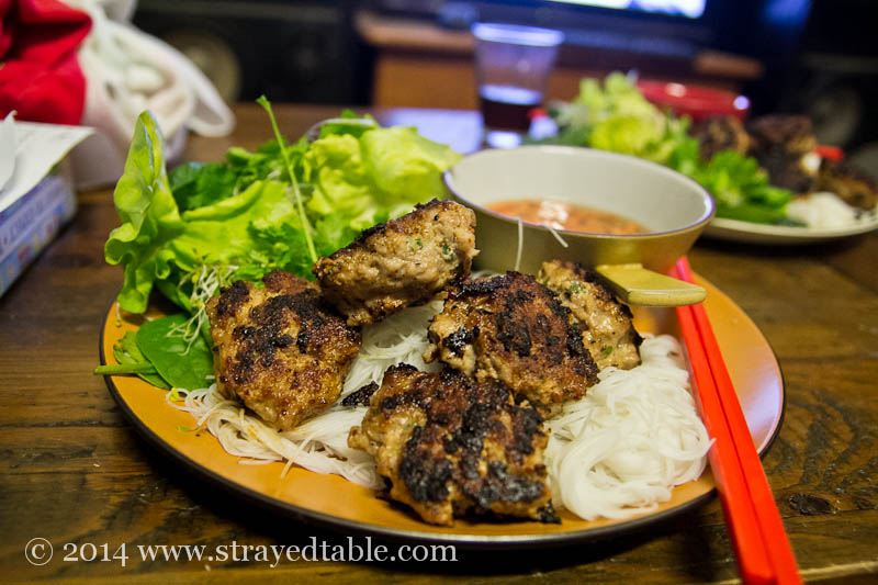 Easy Bun Cha Recipe @ Strayed from the Table