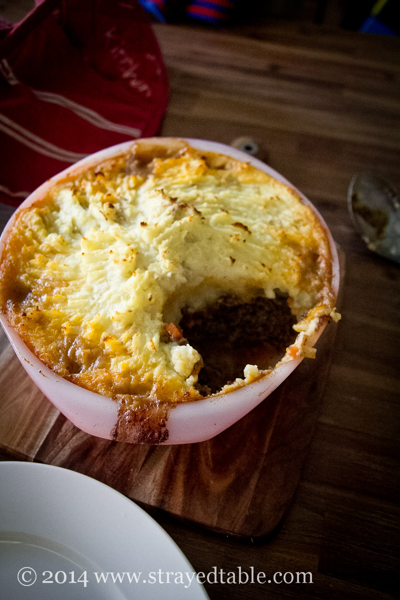 Shepherd's Pie Recipe @ Strayed from the Table