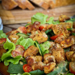 Crumbed Celeriac Salad w Mustard Dressing Recipe