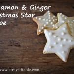 Cinnamon Sugar Star Biscuit Recipe