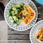 Homegrown Tomato & Basil Tart Recipe